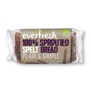 Everfresh Organic Sprouted Spelt Bread 400g
