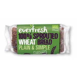 Everfresh Organic 100% Sprouted Wheat bread 400g