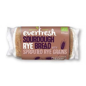 Everfresh Rye Sourdough with Sprouted Rye 400g