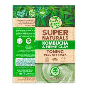 Earth Kiss Kombucha & Hemp Clay Peel-off Mask 10g