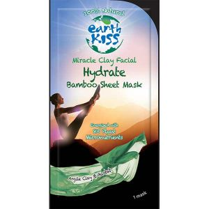 Earth Kiss Miracle Clay Hydrate Facial Bamboo Mask 20g