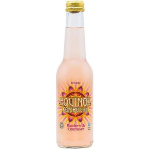 Equinox Kombucha Drink Raspberry & Elderflower 275ml