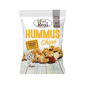 Eat Real Hummus Chips Chili and Lemon 40g