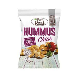 Eat Real Hummus Chips Tomato and Basil 40g