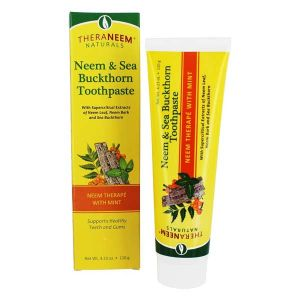 Theraneem Naturals Neem and Sea Buckthorn Toothpaste with Mint 120g