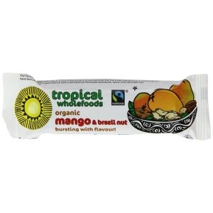 Tropical Wholefoods - Organic Mango & Brazil Nut Bar 40g