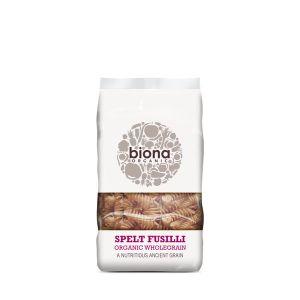 Biona Organic Wholegrain Spelt Fusilli Pasta 500g