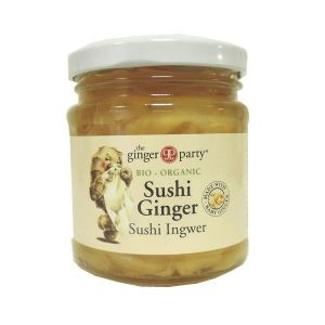 The Ginger Party Sushi Ginger Bio-Organic 190g