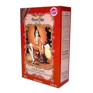 Henne Color Powder Chestnut Brown 100g