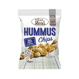 Eat Real Hummus Chips Sea Salt 40g