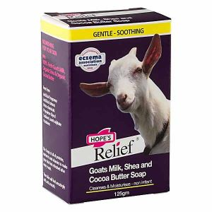 Hopes Relief Goats Milk Shea & Cocoa Butter 125g