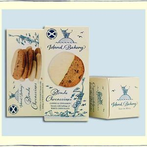 Island Bakery Blonde Chocaccinos 133g