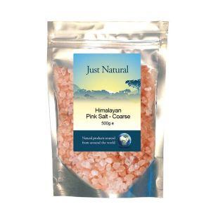 Just Naturals Himalayan Pink Salt Coarse 500g