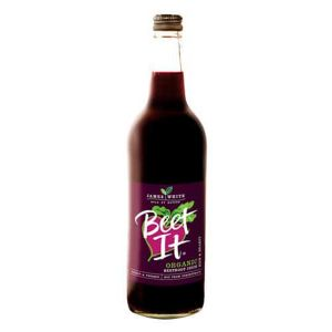 James White Organic Beet It Beetroot Juice 750ml