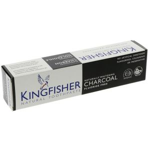 Kingfisher Fluoride Free Natural Charcoal Toothpaste 100ml