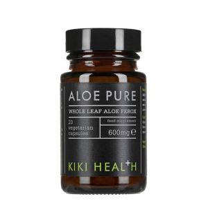 Kiki Health Aloe Pure 600mg 20 Vegetarian Capsules