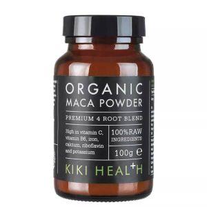 Kiki Health Organic Maca Powder Premium 4 Root Blend 100g