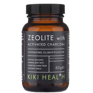 Kiki Health Zeolite with Activated Charcoal 60g