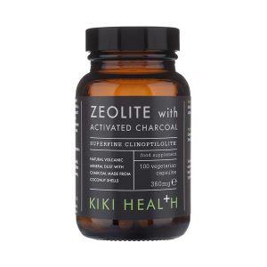 Kiki Health Zeolite with activated Charcoal 360mg 100 Capsules