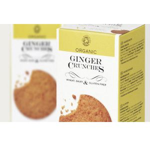 Against the Grain Organic Ginger Crunches 150g