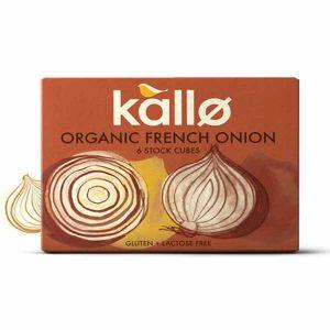Kallo - Organic French Onion 6 Stock Cubes 66g