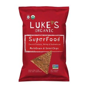 Lukes Organic-Bio - Multigrain Chips Sweet Potato, Hemp & Buckwheat 142g