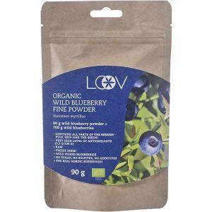 Loov Organic Wild Blueberry Powder 90g