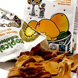 Tropical Wholefoods Organic Fairtrade Mango 100g