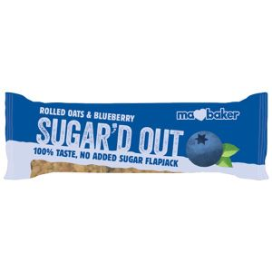 Ma Baker Sugar'd Out Blueberry Flapjack 50g