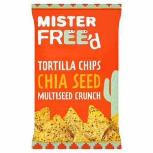 Mister Freed Tortilla Chips Chia Seed Multiseed Crunch 135g