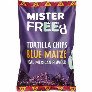Mister Freed Blue Maize Tortilla Chips 135g