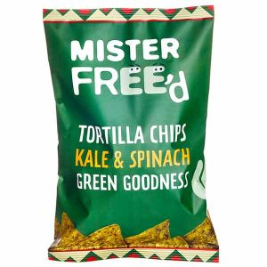 Mister Freed Kale & Spinach Tortilla Chips 135g