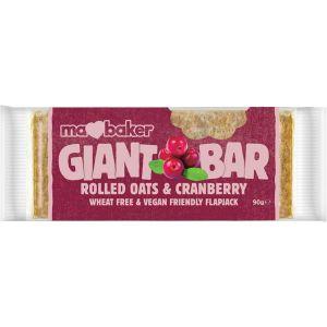 Ma Baker - Giant Bar Cranberry 90g