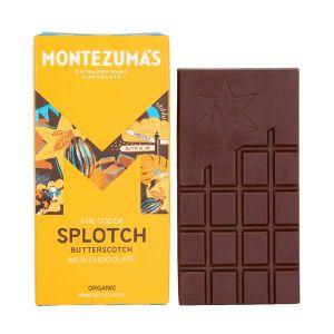 Montezumas Organic Milk Chocolate & Butterscotch