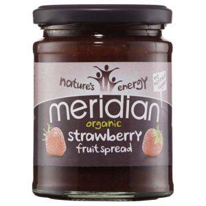 Meridian Organic Strawberry Fruit Spread No Refined Sugar 284g