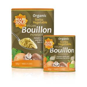 Marigold Organic Vegan Swiss Vegetable Bouillon Gluten Free Low Salt 500g