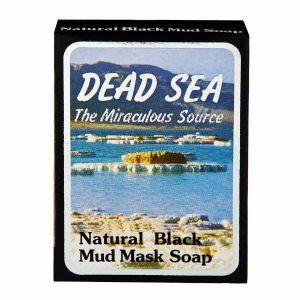 Malki Dead Sea Natural Black Mud Mask Soap 90g