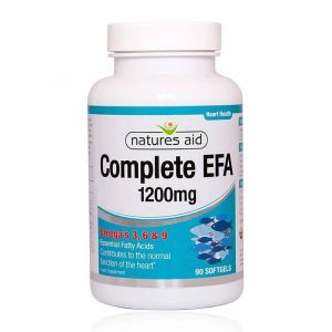 Natures Aid Complete EFA 1200mg Omega 3-6-9 90 softgels