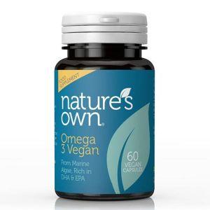 Natures Own Omega 3 60 Vegan Capsules