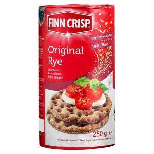 Finn Crisp Original Round Rye Crispbread 250g