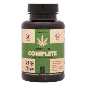 Natures Plus HempCeutix Complete Phytocannabinoids 5mg 60 Vegecaps