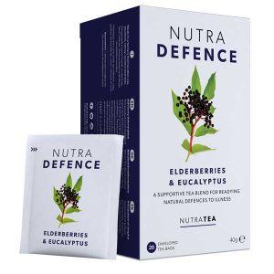 Nutratea Nutra Defence Elderberries & Eucalyptus 20 Teabags