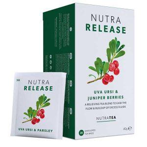 Nutratea Nutra Release Uva Ursi & Juniper Berry 20 Teabags