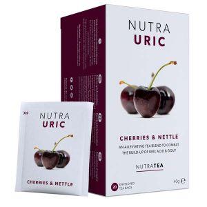 Nutratea Nutra Uric Cherries & Nettle 20 Teabags