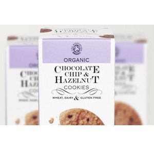 Against the Grain Organic Chocolate Chip & Hazelnut Cookies 150g