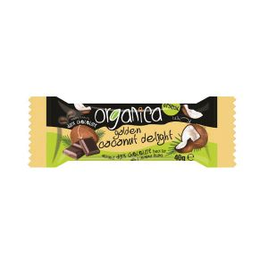 Organica - Golden Coconut Delight Bar 40g
