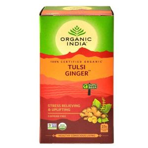 Organic India Tulsi Ginger 25 Teabags