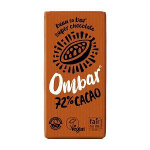 Ombar Organic Chocolate 72% Cacao 35g