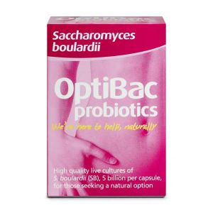 Optibac Probiotics Saccharomyces boulardii ( previously Bowel Calm ) 16 Capsules