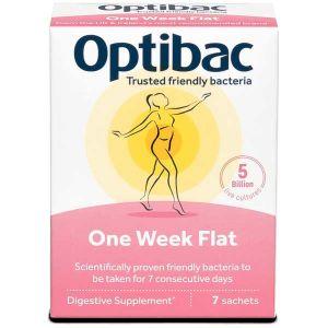 Optibac Probiotics 'One Week Flat' 7 Sachets